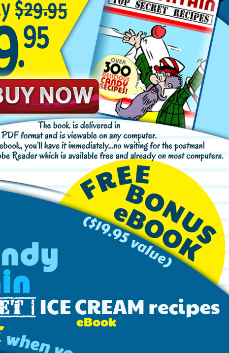 Secret Candy Recipes - Fairy Tales for Kids